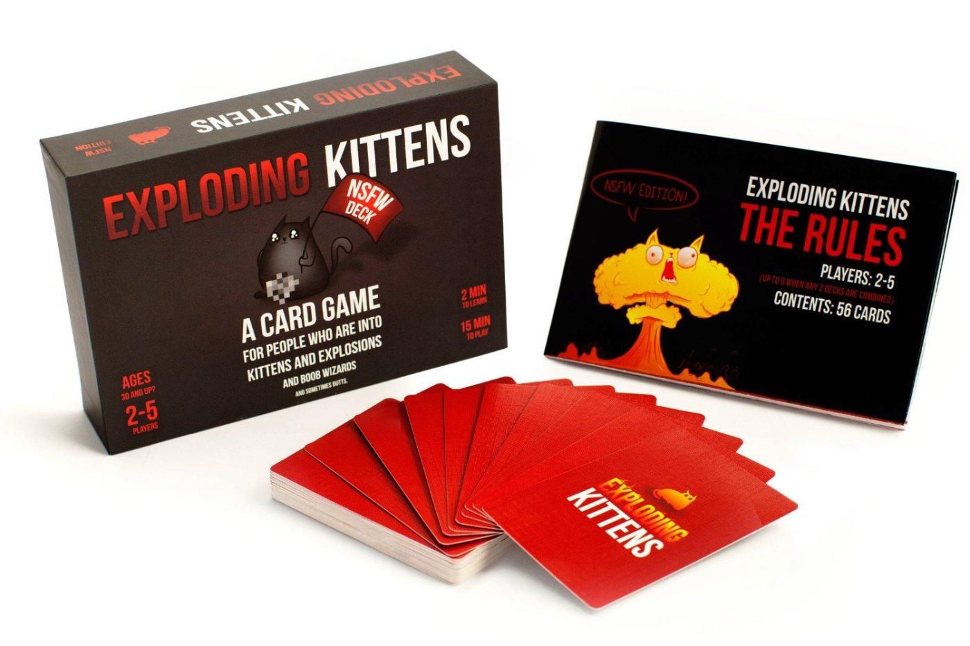 Exploding Kittens juego de cartas
