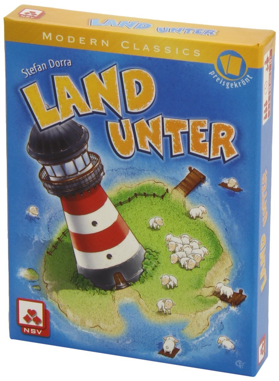 Juego de cartas Land Unter - turn the tide