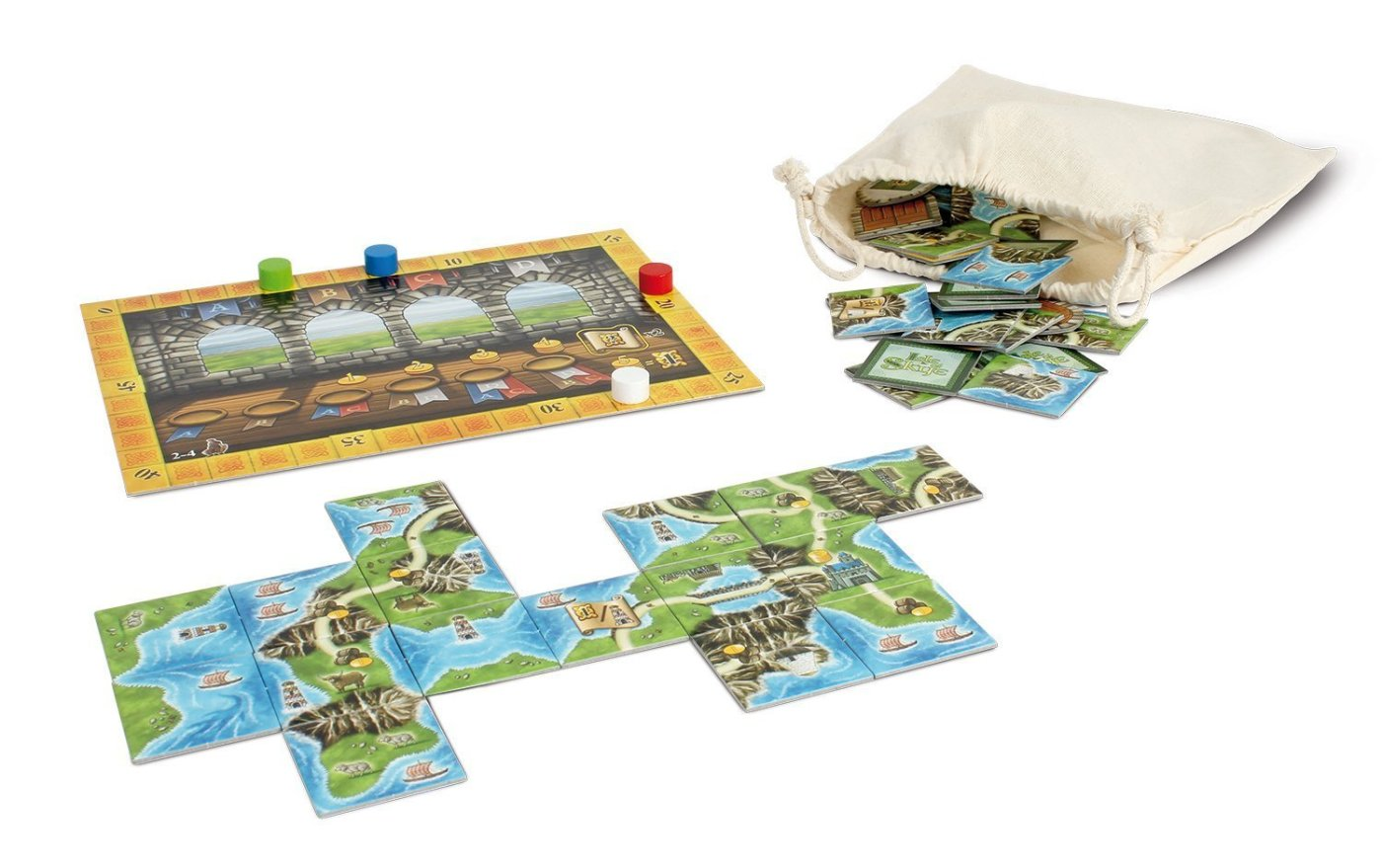 Isla de Skye juego de losetas