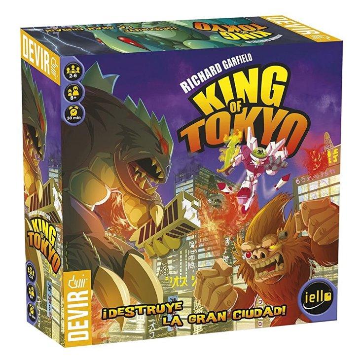 King of Tokyo juego de tablero
