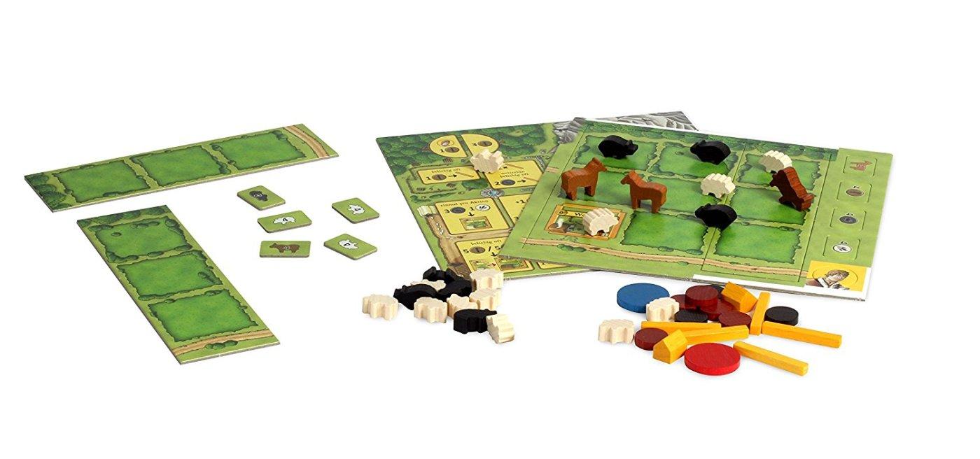 Juego de mesa Agrícola animales en la granja