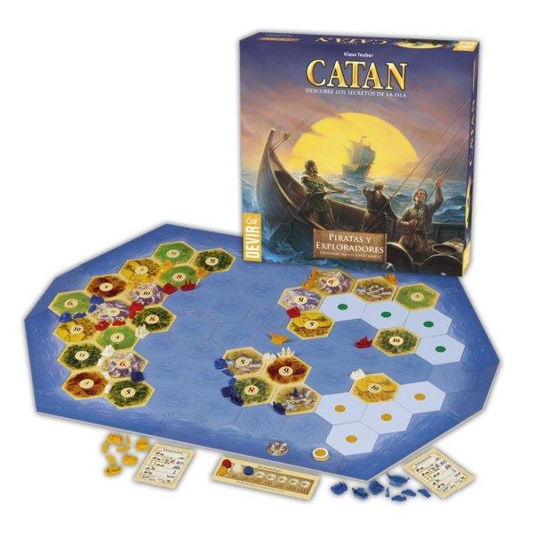 Catan expansión exploradores y piratas