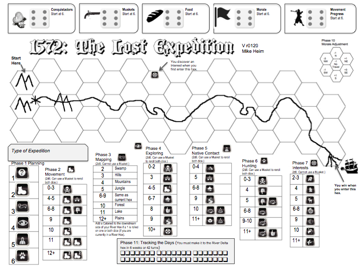 1572 The lost expedition juego
